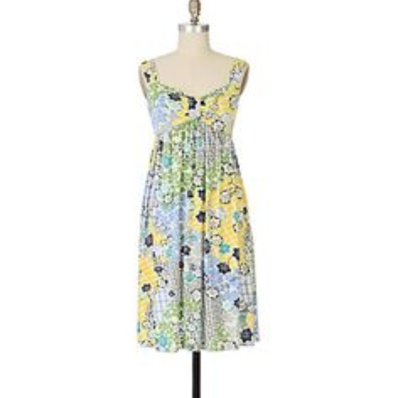 Anthropologie Dresses & Skirts - Anthropologie Floral Summer Dress